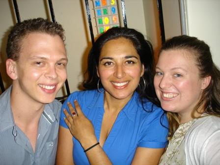 Jared, Niyati and Meagan