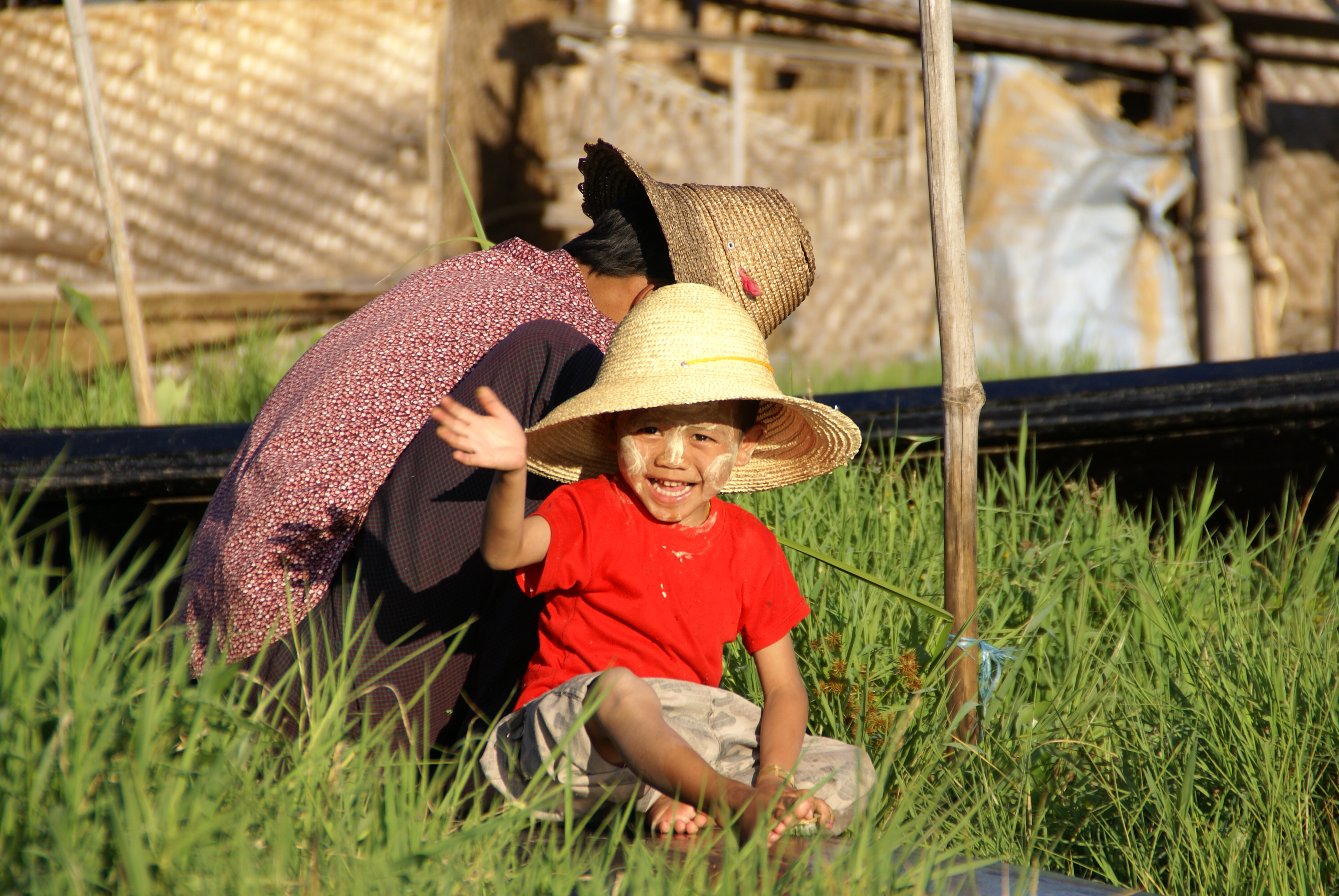 Floating gardens of Inle Lake, Burma
