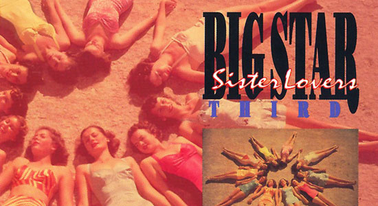 Album cover showing girls lying on sand in old-fashioned swimsuits.
