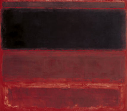 Mark Rothko Four Darks in Red, 1958. Courtesy Whitney Museum of Art, NYC, USA and Tate Modern, London, UK.