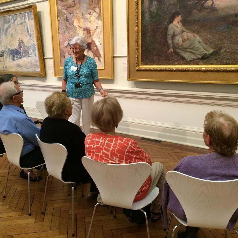 Arts and Dementia Program at AGNSW