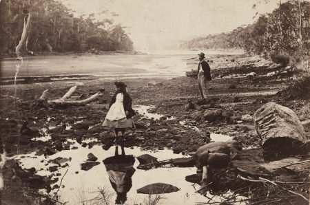 Unknown photographer, Australian scenery, Middle Harbour, Port Jackson, c1865, carte de visite, Art Gallery of New South Wales, gift of Josef and Jeanne Lebovic, Sydney 2014
