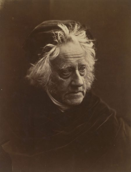 Julia Margaret Cameron, Portrait of Herschel, 1867 © Victoria and Albert Museum,  London
