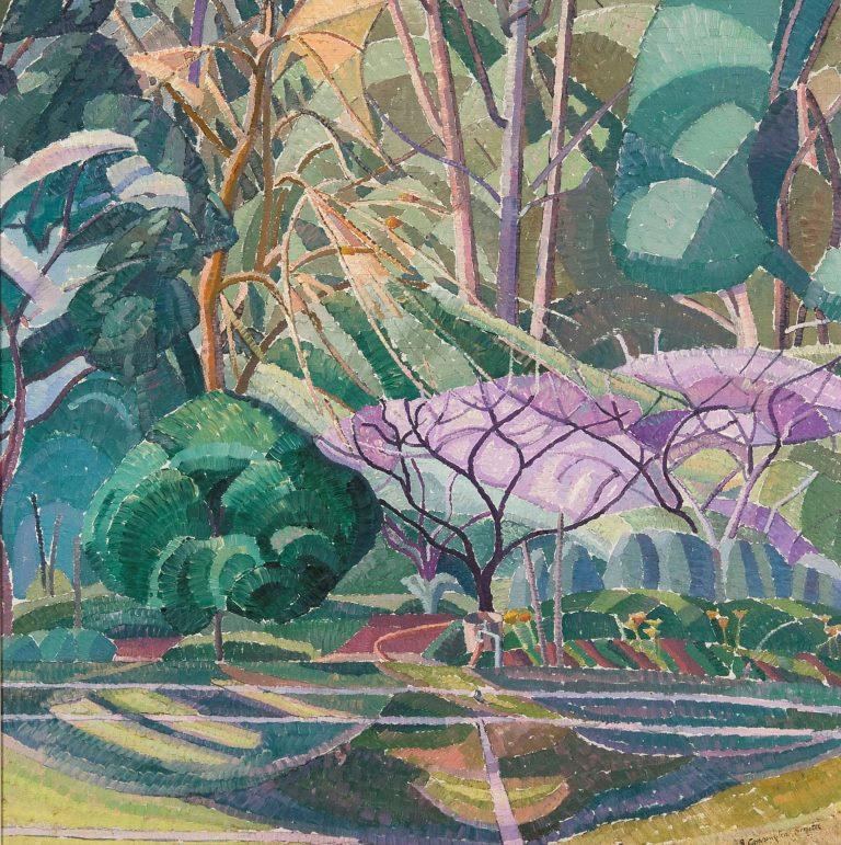 Grace  CossingtonSmith_Trees _c1927_oil on plywood_ cropped