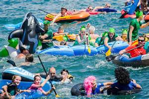 Manly Inflatable Boat Race - Image