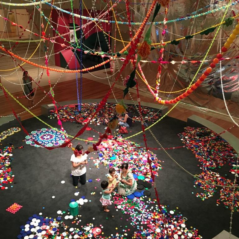 Choi Jeong Hwa, The Mandala of Flowers