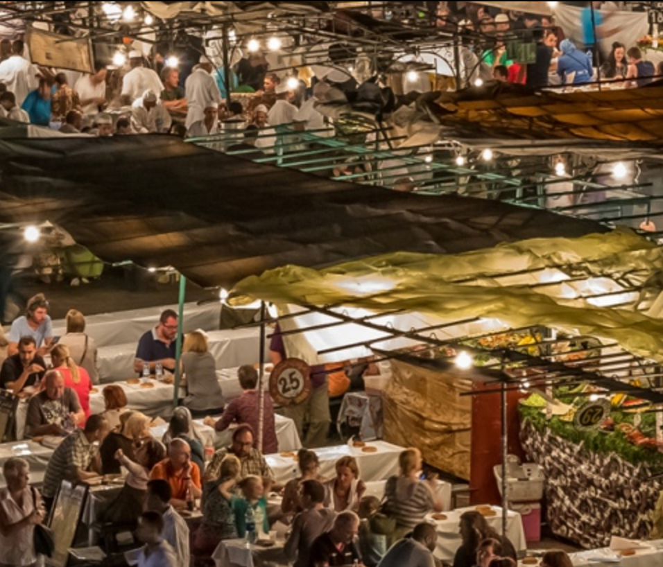 MIDDLE EASTERN NIGHT MARKETS - Image