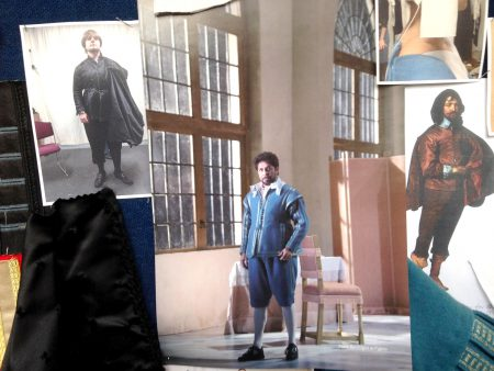 Mood board for Opera Australia's production of The Marriage of Figaro
