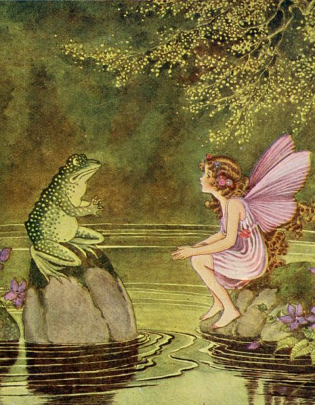 frog and fairy