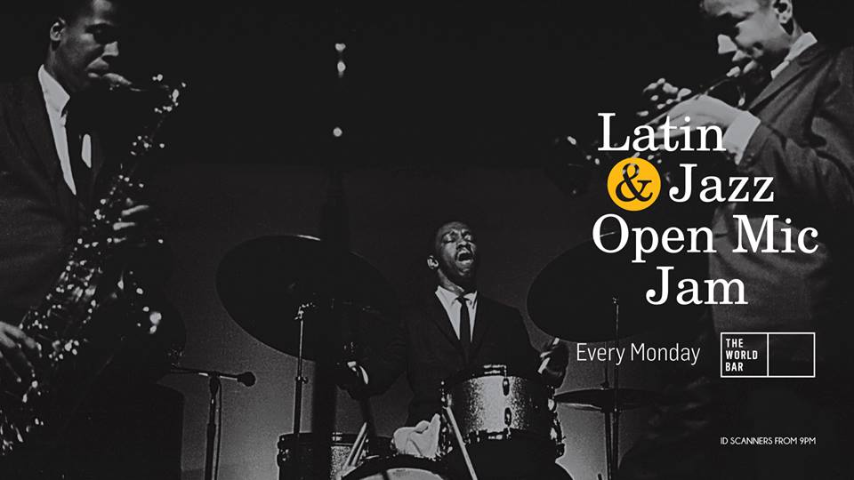 Latin and Jazz Jam: Open mic night - Image