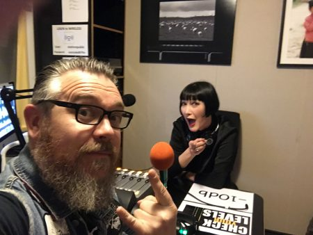 Claudia Chan Shaw with Anthony Huckstep