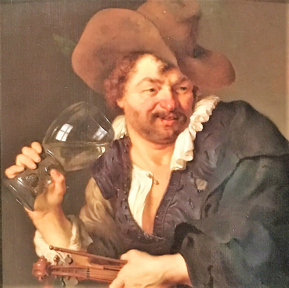 dutch painting wine