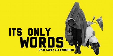 It's Only Words exhibition - Image