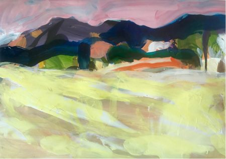 Morning Light by Mike Staniford. Acrylic on paper.