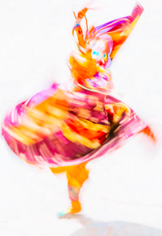 Andrew Peacock: Bhutan - Dancing Colour - Image