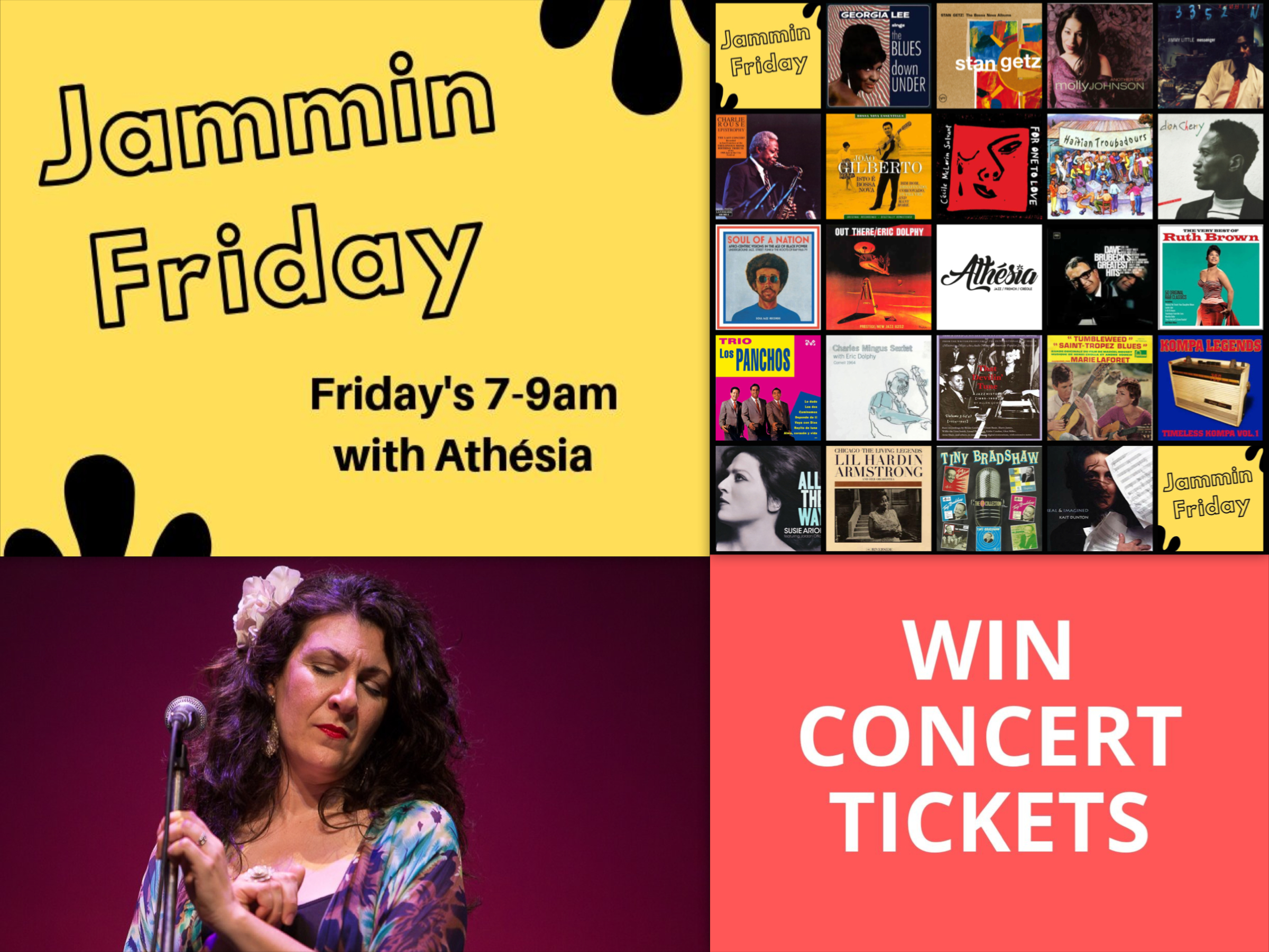 WIN CONCERT TICKETS 12 july Jammin with Athesia on Eastside