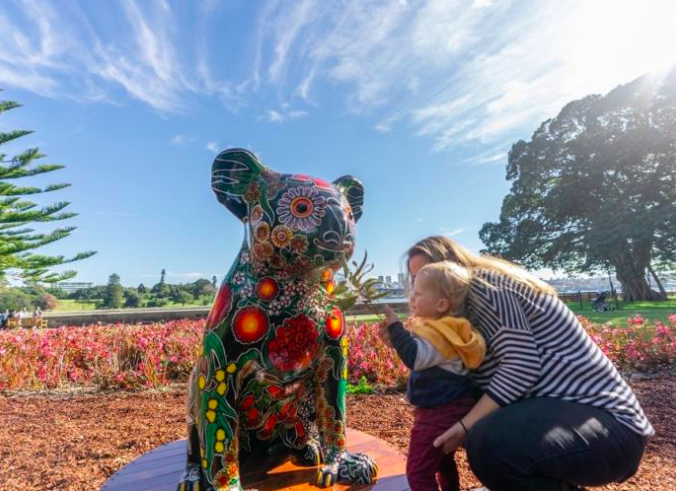 Hello Koalas - Over 20 one-metre high koala sculptures - Image