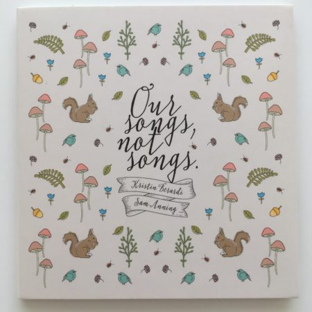 """Kristen Berardi and Sam Anning """"Our songs, not songs"""""""