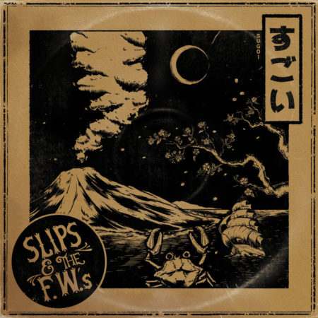 Album art for Slips and the F.W's newest album Sugoi
